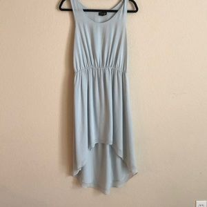Topshop Light Blue High Laos Dress